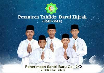 Pesantren Tahfidz Darul Hijrah